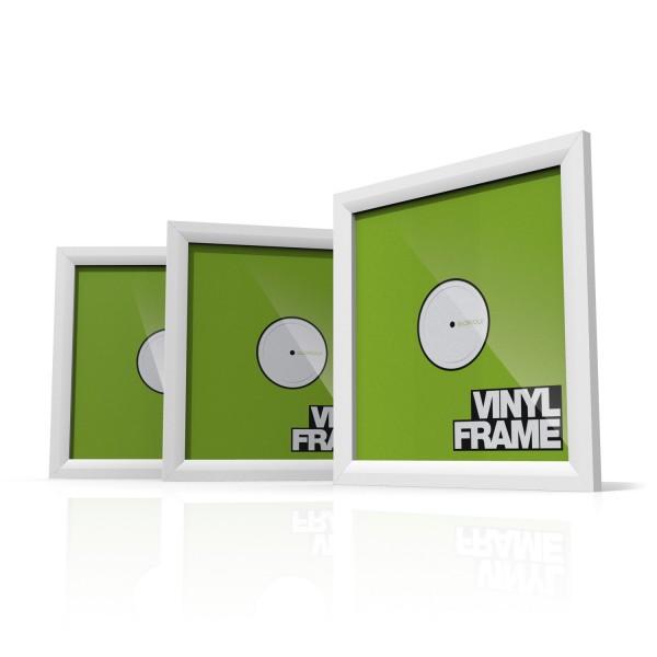 Vinyl Frame 3er Set (White)