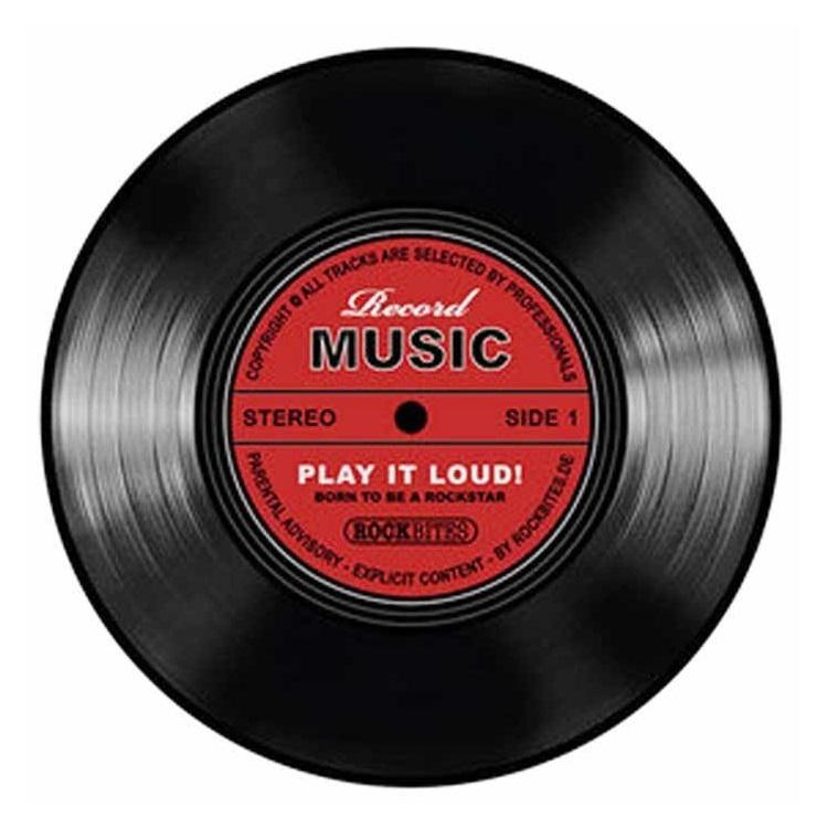 Untersetzer Vinyl Schallplatte Record Music 6er Set 101193 Durchmesser 9,5cm