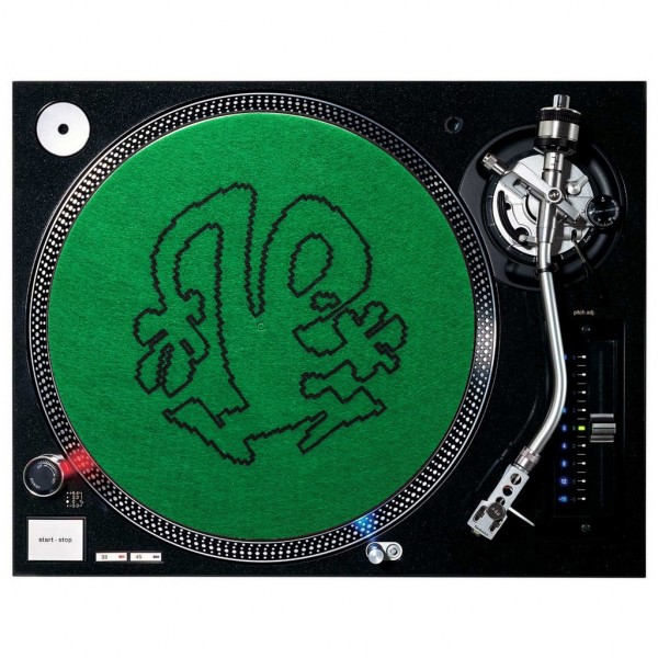 Silhouette Green / Black (1 Stück)